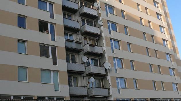 Zateplený dům v Národní ulici.
