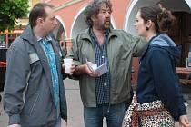 V Netolicích natáčel filmový štáb Babovřesk s režisérem Zdeňkem Troškou.