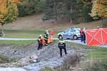Policisté v řece Volyňce našli lidské tělo.