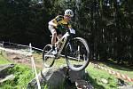 Český pohár cross country horských kol 2021 na Zadově - závod Muži Elite a U23.