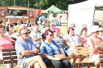 Kapely, které navodily tu správnou pohodu, dostaly pozvánku na druhý den festivalu v Husinci.