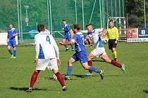 Fotbalová I.A třída: Čkyně - Mirovice 1:3 (0:1).