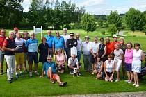Jihočeská senior golf tour zavítala do Pyšel.