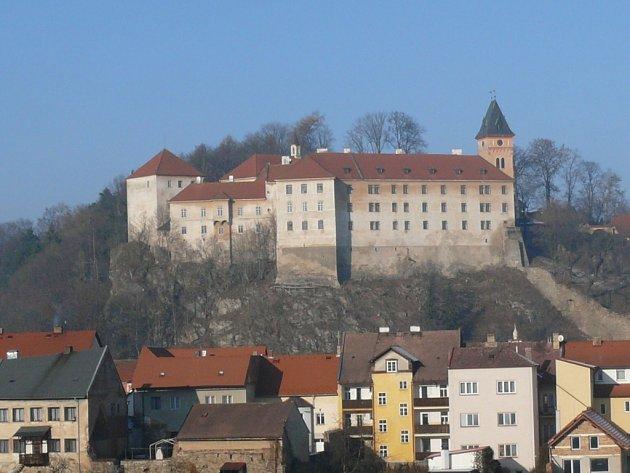Národní kulturní památka Státní zámek Vimperk.