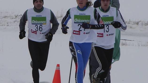 Před rokem vyhrála Šárka (uprostřed) oba závody v Argentině.