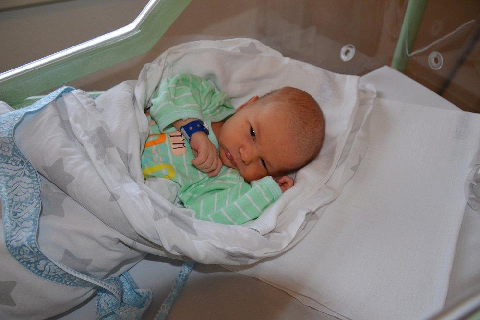 JAN MÁČL, LŠTĚNÍ. Narodil se ve středu 20. listopadu v 10 hodin a 22 minut v písecké porodnici. Vážil 3400 gramů a měřil 50 centimetrů. Má brášky Matěje (12 let) a Michala (14 let). Rodiče: Jaroslava Machová a Jan Máčl.