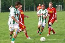 Setkání fotbalových legend ve Strunkovicích nad Blanicí.