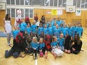 Čerti si ve Vimperku přišli zacvičit gymnastiku.