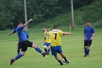 Fotbalová příprava: Vlachovo Březí - Husinec 2:5.