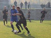 V okresním souboji porazili Lažišťští Vlachovo Březí 3:0.