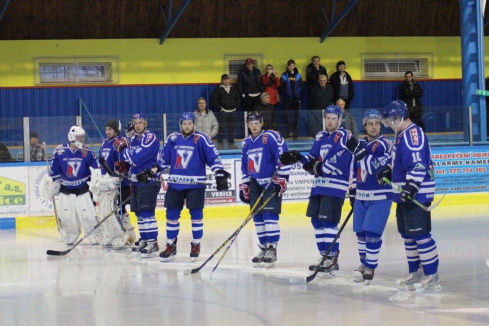 Vimperští doma prohráli s Veselím 2:5 a v play off končí.