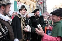 Ohlédnutí za prvním dnem Slavností Zlaté stezky v Prachaticích.