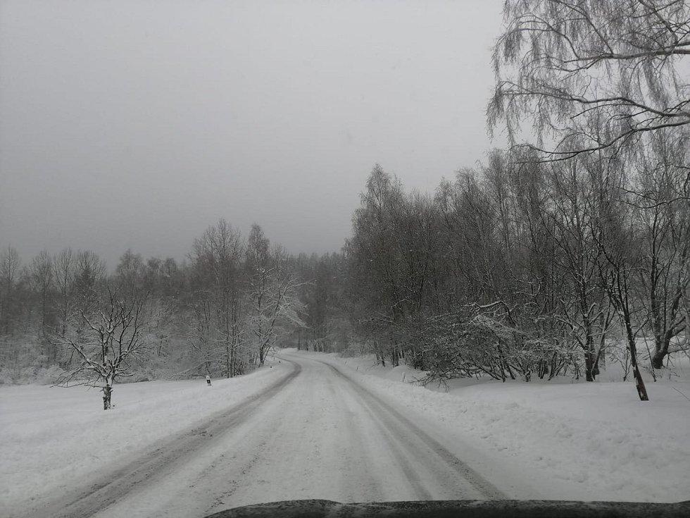 Cesta z Libinského Sedla do Prachatic.