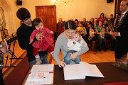 Novým občanem Prachatic se stal Jan Furiš.