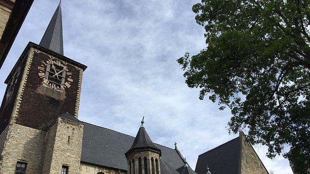Brusel Svatá Alena