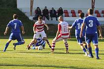 Fotbalová B třída: Lhenice - Sousedovice 2:2.