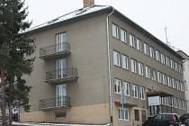 Budova katastrálního úřadu v Prachaticích.