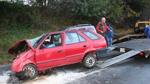 Smrtelná nehoda u Ostrova na Prachaticku
