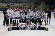 Mladší žáci HC Vimperk byli oceněni za výbornou minulou sezonu.