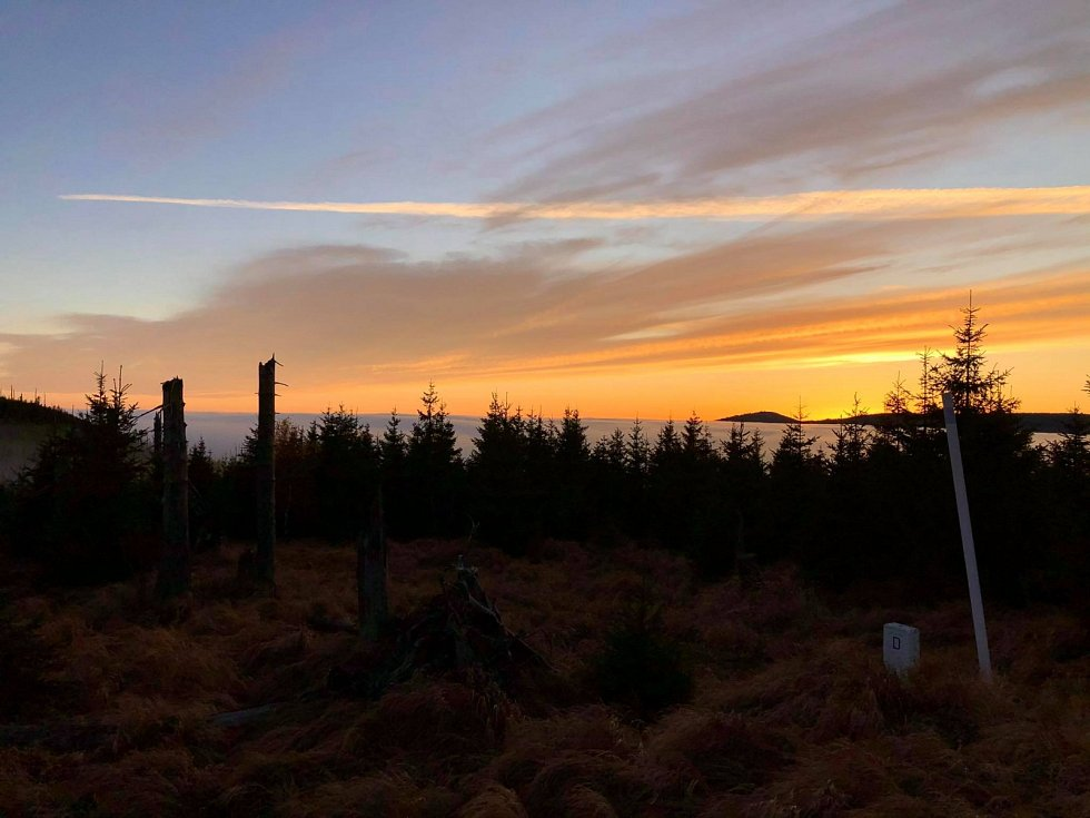 Západ slunce na Kvildsku.