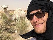 Tadeáš Šíma zdolává další kilometry na kole Afrikou.