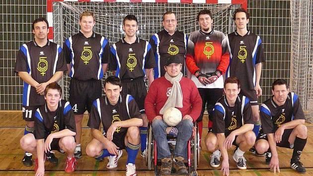 Fotbalový tým 5 samyc.