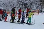 Třetí závod Bázumského poháru se jel v Českých Žlebech.