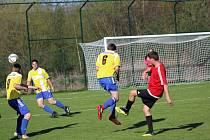 Fotbalová I.B třída: Strunkovice - Vlachovo Březí 3:0.