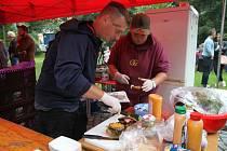 Ve Vimperku se v parku u Volyňky konal další ročník Food festivalu. V sobotu 28. srpna 2021 přitáhl početné návštěvníky.