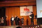 Klarinetový soubor Prachatice na festivalu v Praze.