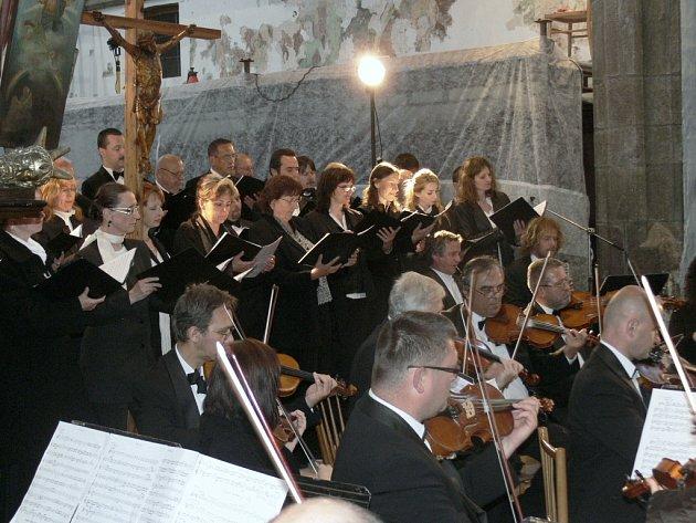 Dny duchovní hudby v Prachaticích. Ilustrační foto