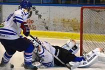 Vimperským hokejistům se nedaří bodovat.