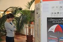 Zahájení výstavy od 17. listopadu 1989 v Prachaticích na Gymnáziu.