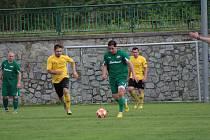 Fotbalová I.A třída: Lažiště - Větřní 5:2.