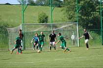 Fotbalová I.A třída: Lažiště - Lokomotiva ČB 4:4.