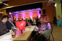 Valentýnský ples Základní umělecké školy ve Volarech.