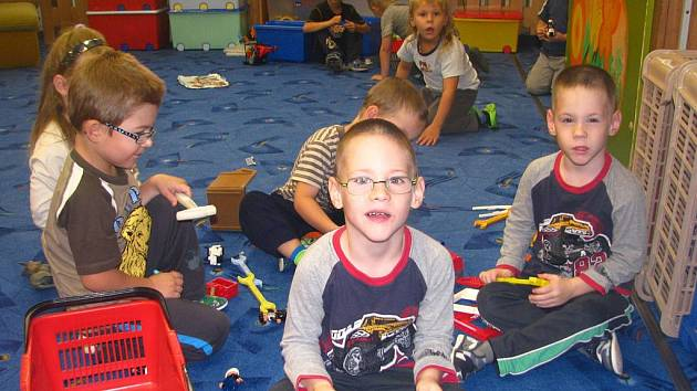 Mateřská škola v České ulici má ve čtyřech třídách sto dvanáct dětí.