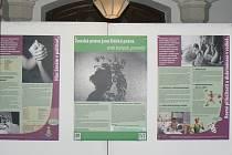Výstava Ženská práva jsou lidská práva, aneb kampak panenko.