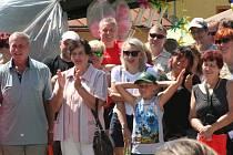 Letošní Slavnosti chleba v Lenoře přálo počasí měrou vrchovatou, takže několik stovek návštěvníků si mohlo v klidu užívat připravený bohatý program.