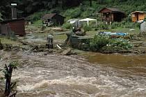 Voda ničila Vimperk a jeho okolí.