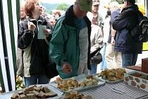 Soutěž o nejlepší chléb je jen jednou z akcí, které mohou návštěvníci červencových Slavností chleba v Lenoře vidět.
