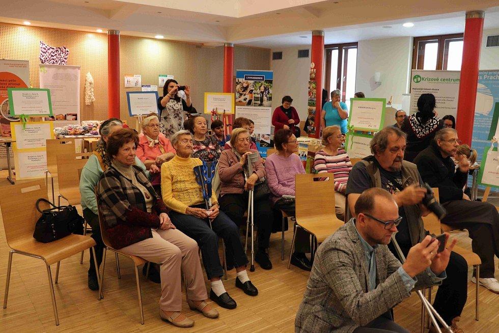 Veletrh sociálních služeb v prachatickém Národním domě. Foto: Deník/Barbora Vaníčková