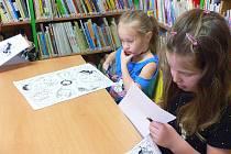 Tvořivá dílna v Městské knihovně ve Volarech.