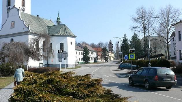 Město Volary - ilustrační foto.