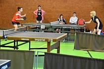 Stolní tenisté hráli jubilejní 10. ročník H.B. cupu.