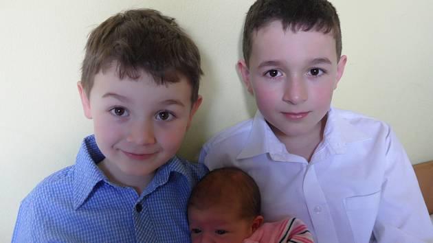 V písecké porodnici se 21. března v 19:16 hodin narodila Dorotka Froydová. První fotografování se sestřičkou si nenechali ujít bráškové Deniel (5 let) a Dominik (10 let). Holčička vážila 3550 g a měřila 50 cm. Rodiče Petra a Pavel žijí ve Zdíkově.