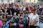 První školní den v Základní škole ve Vacově.