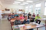 Nejen prvňáci museli 4. září 2017 do školy, ve Strunkovicích jsme zachytili žáky druhého stupně ZŠ.