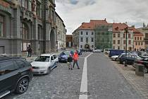 Prachatické náměstí na Googlu.
