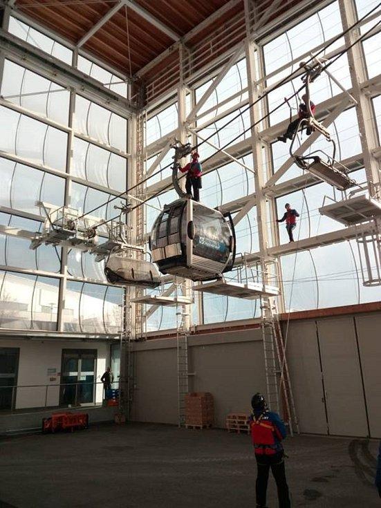 Šumavští záchranáři cvičili v Německu.